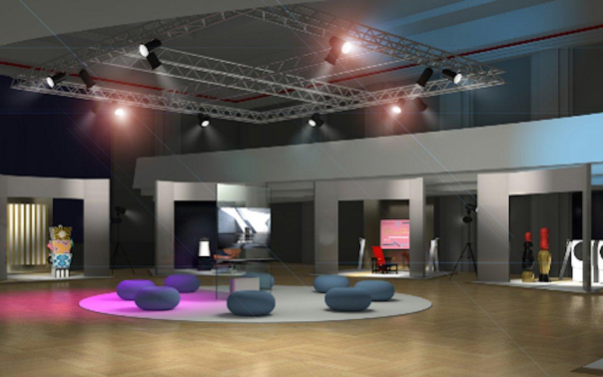 Die Artweek 2018 des Herstellers nimmt sich auch des Bauhaus Jubiläums an (Foto: LG)