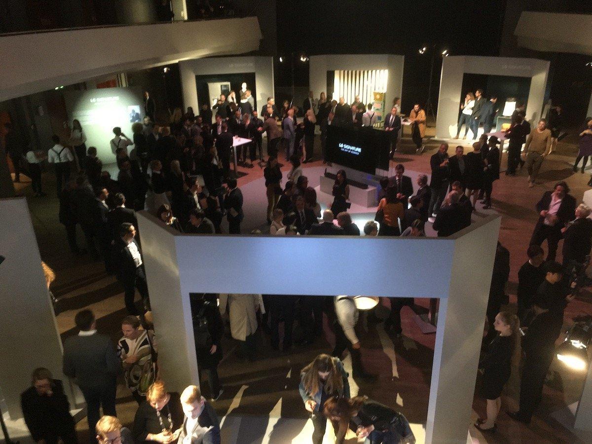 Eröffnung mit Gästen (Foto: invidis)