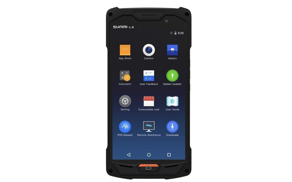 Neue Handheld-Kasse Sunmi L2 (Foto: Concept International)