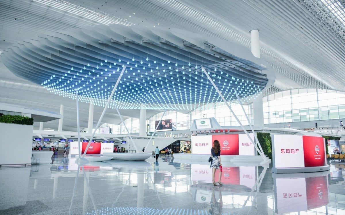 Guangzhou Airport (CAN) Terminal 2 (Foto: JC Decaux)