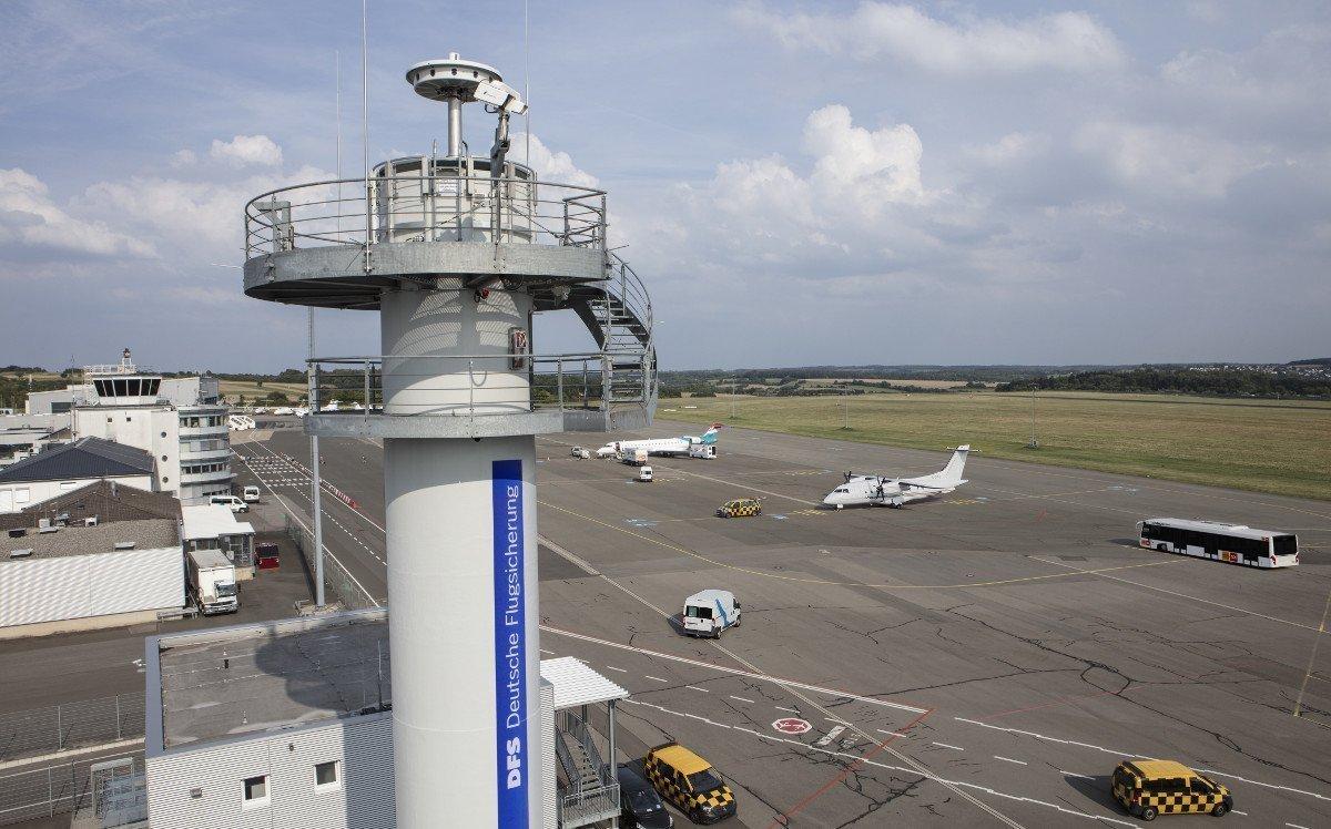 Remote Tower der DFS - Kameras und Sensoren ermöglichen die Remote-Flugkontrolle (Foto. DFS)