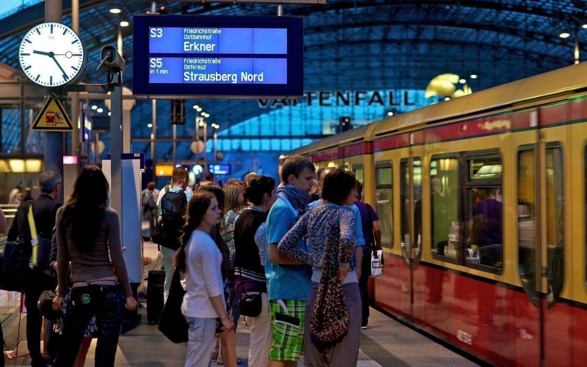 Fahrzielanzeiger bei der S-Bahn Berlin (Foto: S-Bahn Berlin/DB)