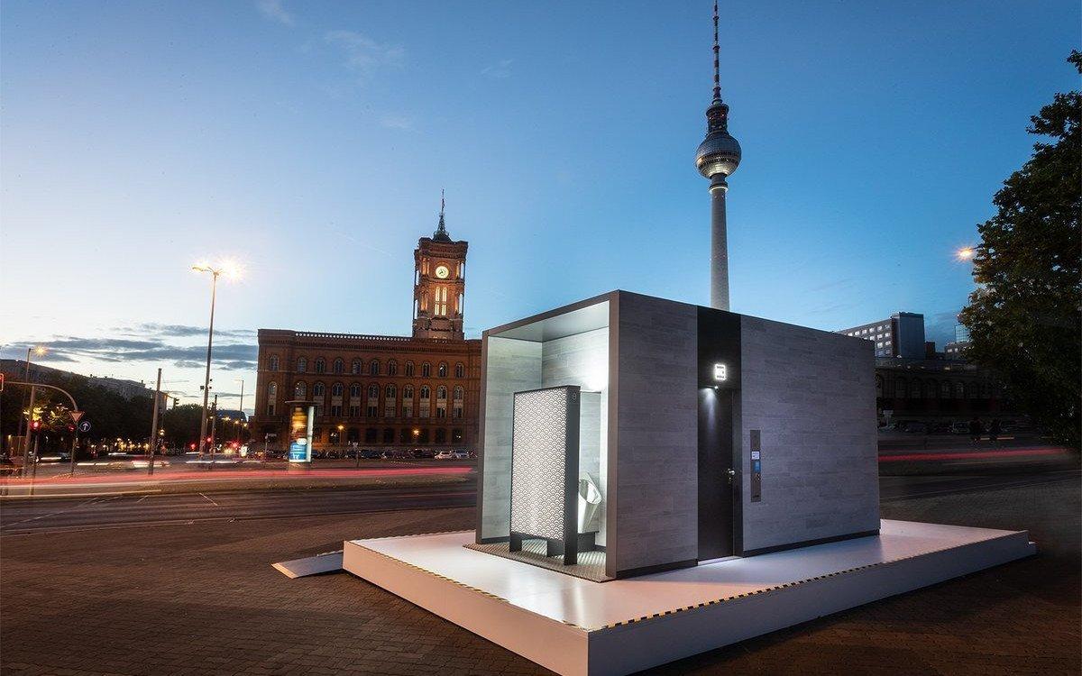 Entwurf neuer Wall Toiletten ohne Plakatstellen (Foto: Wall)