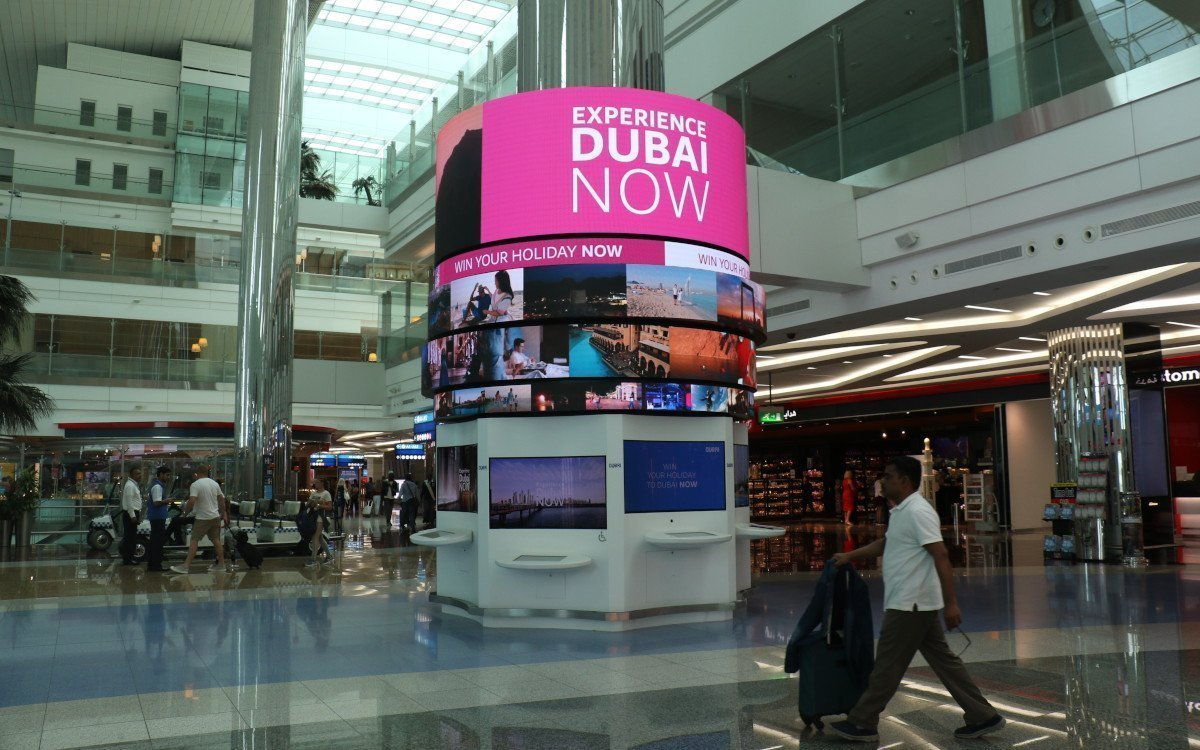 Travel Dubai DXB Airport (Foto: Connectiv)
