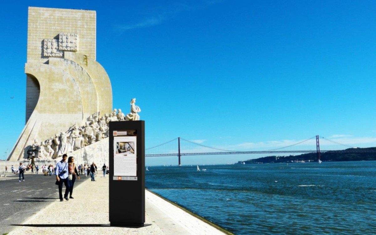 Wingsys Stele in Lissabon (Foto: Famasete)