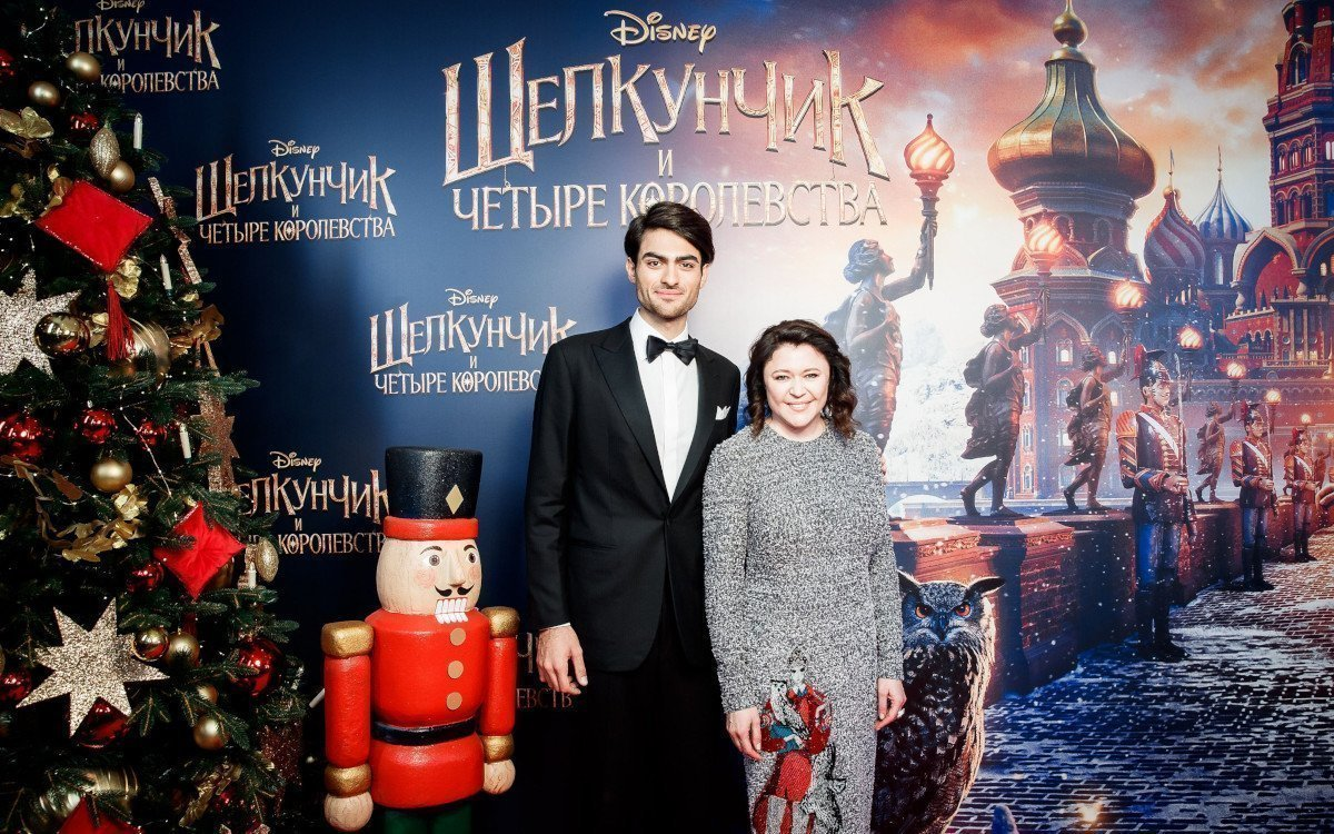 Nussknacker Premiere in Moskau mit Matteo Bocelli und Marina Jigalova (Foto: Disney, courtesy of WDSPR)