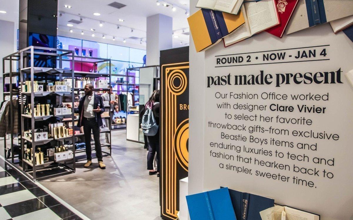 Bloomingdale's Pop-Up Store mit OLED-Videowall (Foto: Float4)