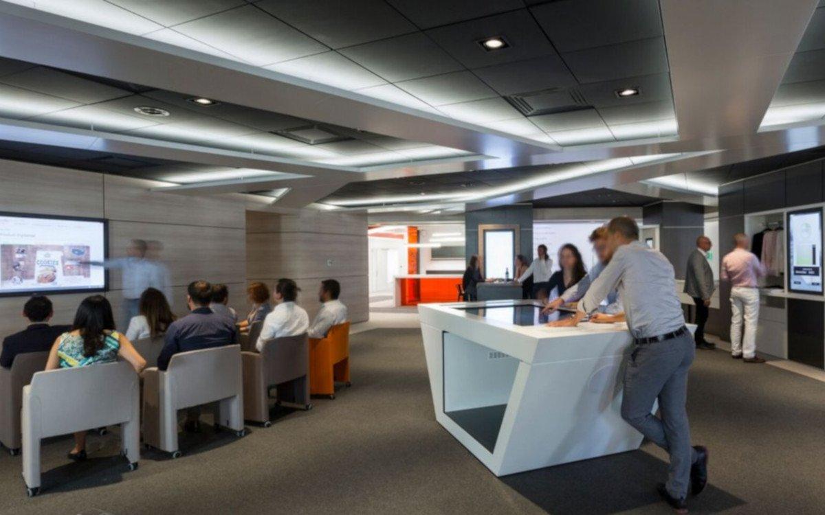GS1 Value Chain Management Showroom in Paris (Foto: Ventuz)
