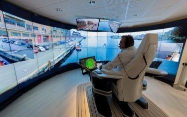 Control Room von Rolls Royce bei Finferries in Turku (Foto: Rolls Royce)