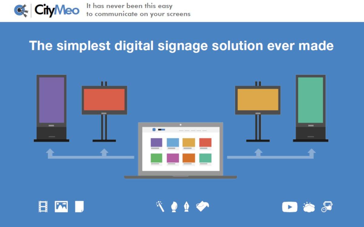 Plug & Play Digital Signage von Citymeo (Foto: Citymeo)