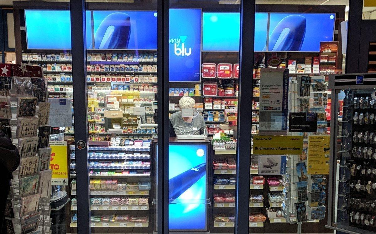 Displays satt am Tabak PoS (Foto: invidis)