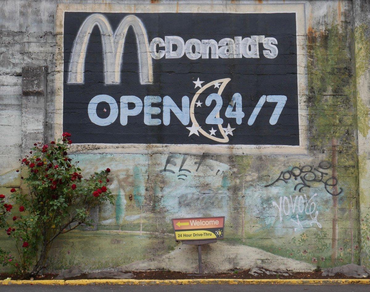 McDonalds Restaurant in den USA (Foto: Barry McGee)