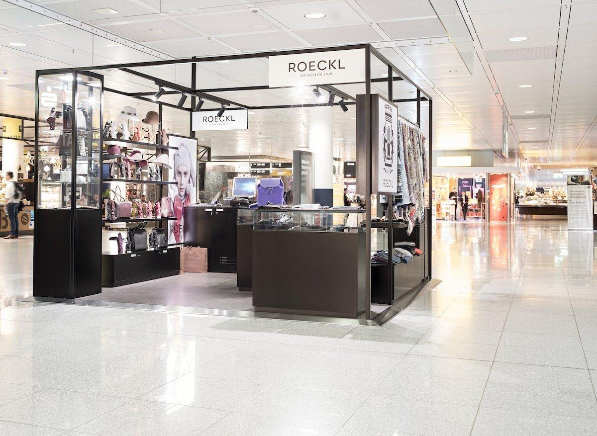 Bislang spielen digitale Elemente bei den Pop ups keine Rolle (Foto: Flughafen München)