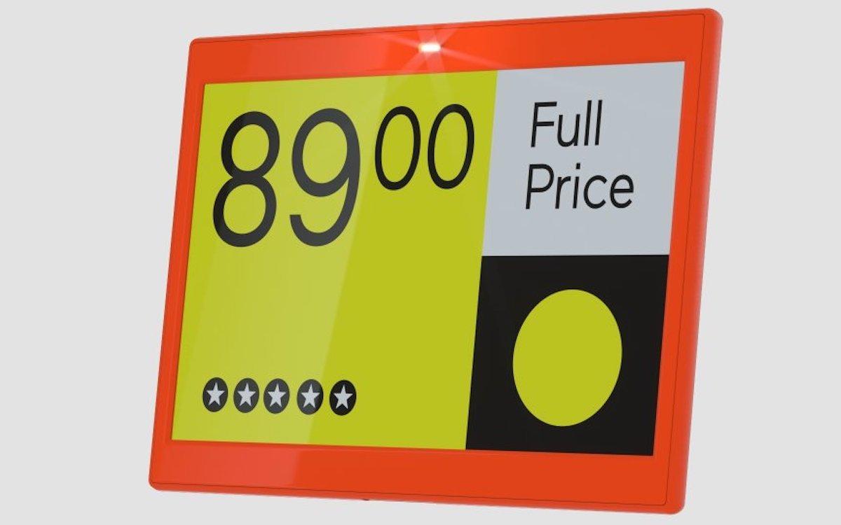 Der Retailer wird ausschließlich VUSIO-ESLs mit farbigen Display-Anzeigen einsetzen (Foto: SES-imagotag)