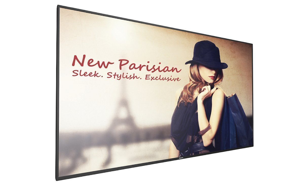 Digital Signage Screen aus der D-Serie von PPDS (Foto: Philips Professional Display Solutions)
