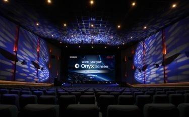 """In Peking wurde erstmals einer der 14 m breiten """"Onyx"""" Screens installiert (Foto: Samsung)"""