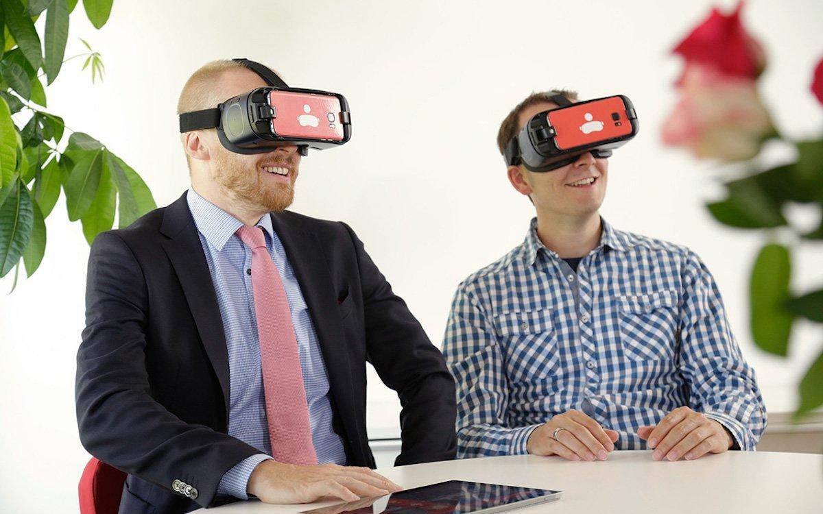 VR-Beratung bei einer Sparkasse (Foto: engram)