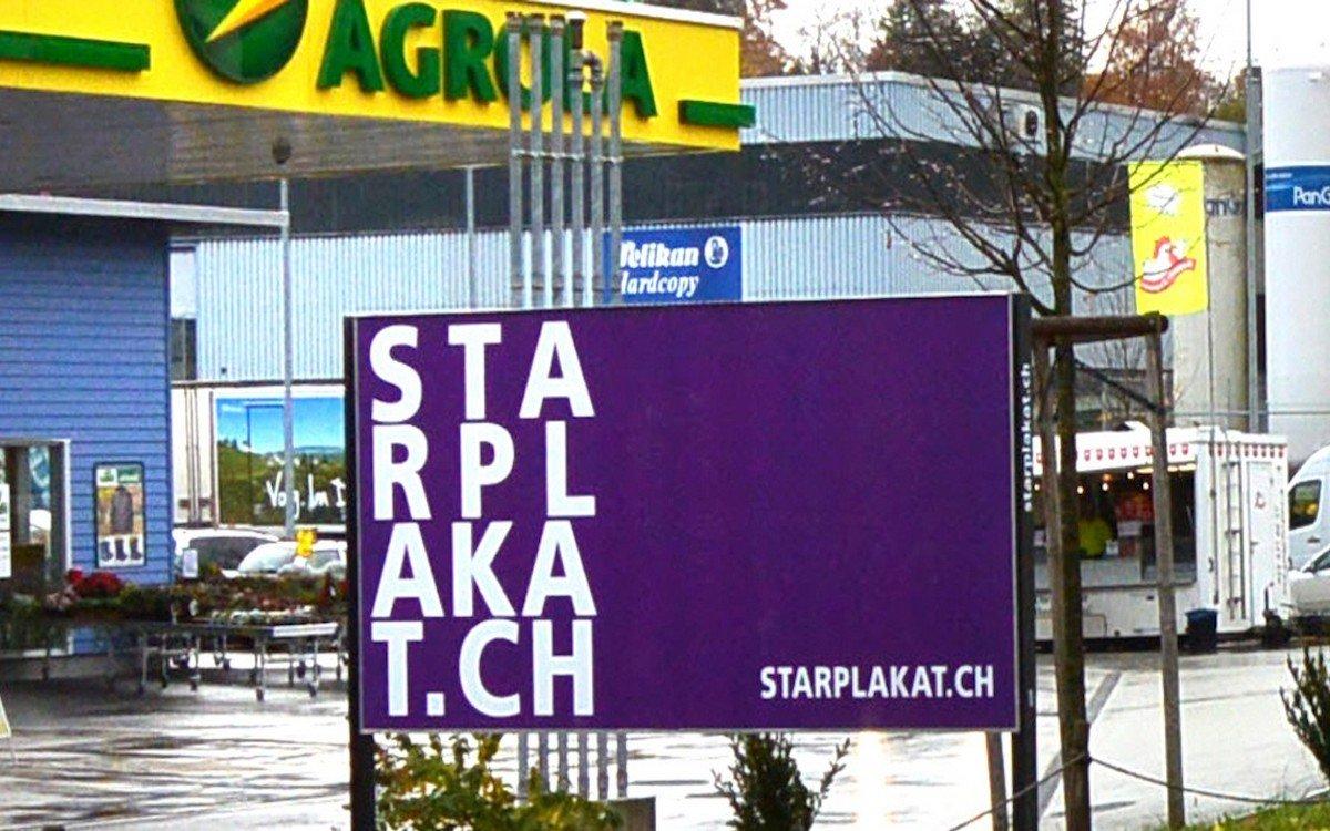 Werbeträger der Star Plakat AG (Foto: Star Plakat AG)