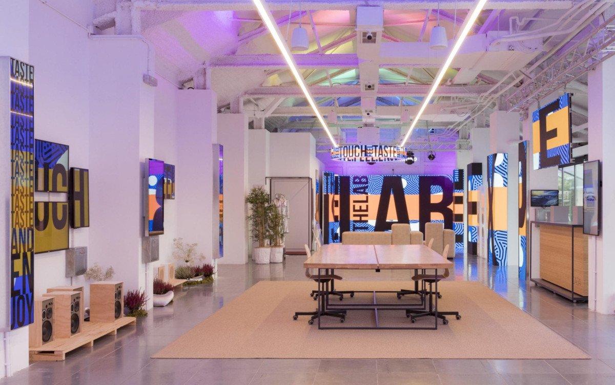 Platz für Kunden-Workshops - Trison Digital Experience Lab in Barcelona (Foto: Trison)
