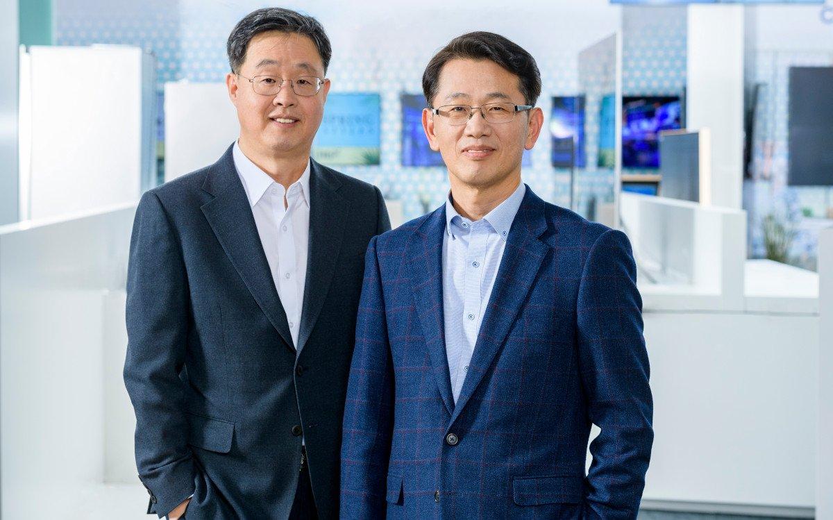 Neues Management bei Samsung in Schwalbach: Willem Kim & Sangho Jo (Foto: Samsung)
