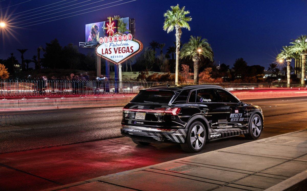 Audi präsentiert fahrzeug-gekopplete VR-Experiences auf der CES (Foto: Audi)