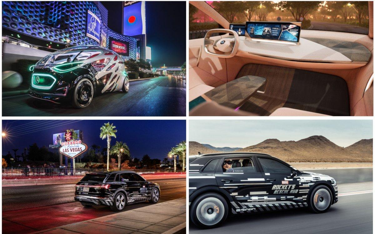 Gegen Google & Co - Audi, BMW und Mercedes auf der CES (Fotos: Audi, BMW und Daimler)