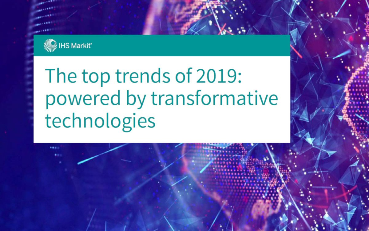 IHS Markit Studie Technologie Trends 2019 (Foto: IHS Markit)