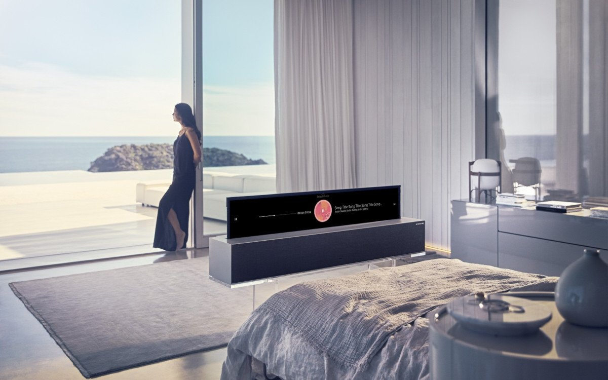 LG Rollable OLED - aufrollbares Display (Foto: LG)