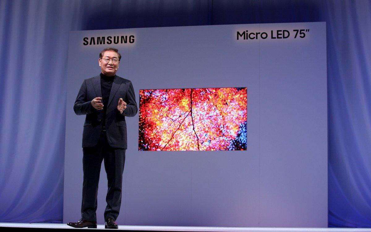 MicroLED auch in kleineren Größen (Foto: Samsung)