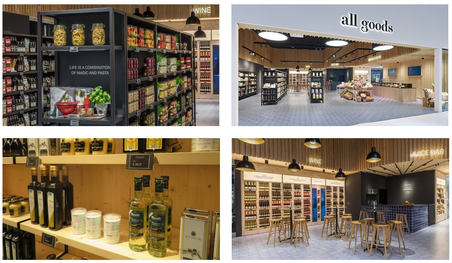 Shelf powered ESL in Food Retail at Vitra The Village (Photos: Vitra)