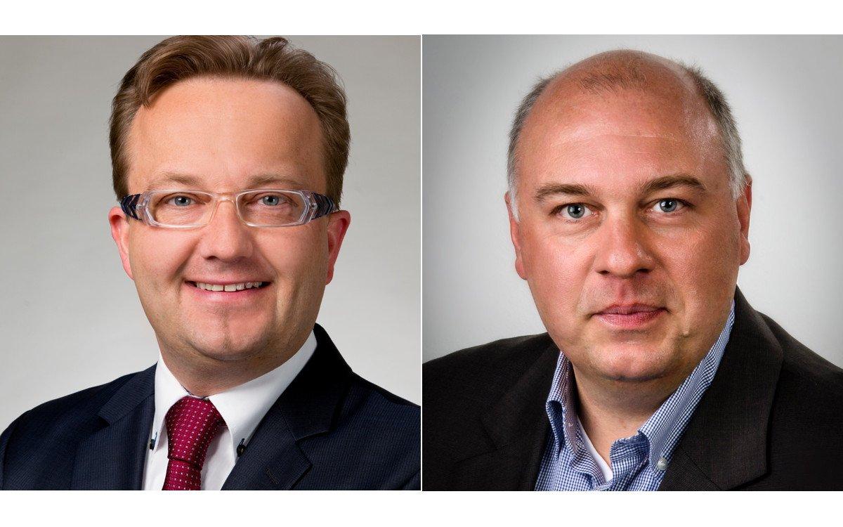 Veränderungen bei Kindermann - Marco Kraus und Jens Zechmeister (Fotos: Kindermann)