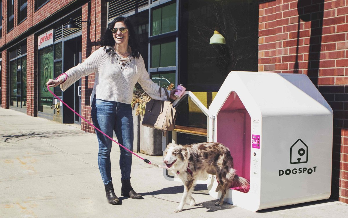 Wuff am PoS - Digitale Hundehütte von Dogspot (Foto: Dogspot)