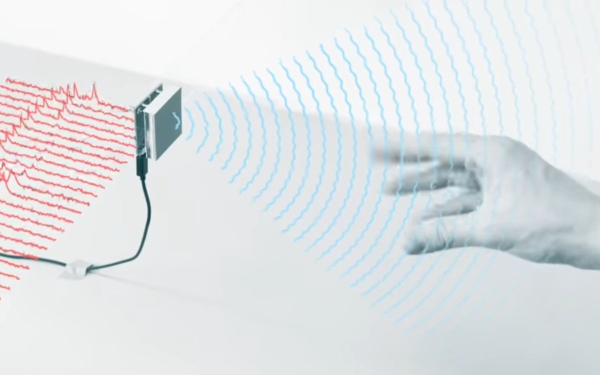 Google Soli Radar Interaktion (Foto: Screenshot)