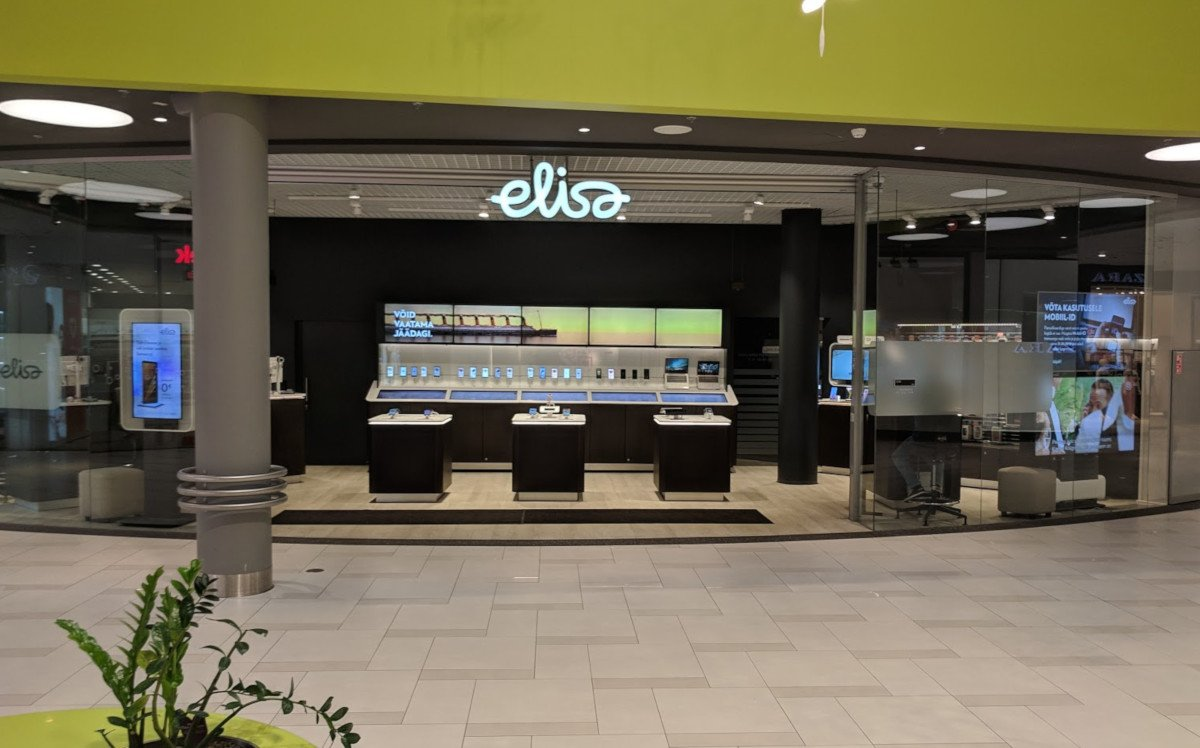Elisa Store in der Ulemiste Mall in Tallinn (Foto: invidis)