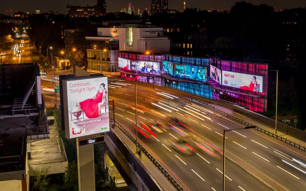DooH Screens von Clear Channel UK (Foto: Clear Channel)