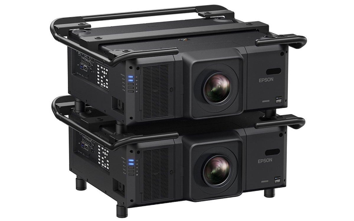 Im Doppelpack: Pro AV-Laserprojektor von Epson (Foto: Epson)