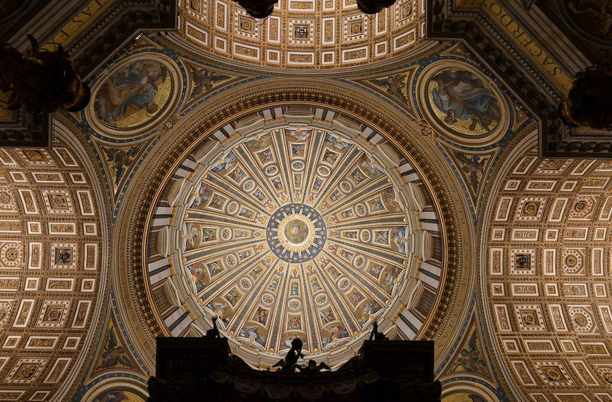 Nicht nur die Kuppel des Petersdoms erstrahlt nun in neuem Glanz (Foto: Archivo Fotografico Fabbrica di San Pietro)