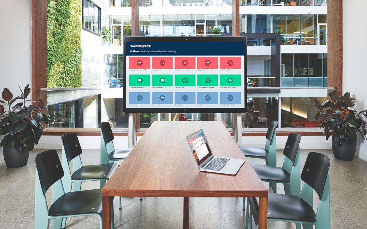 Cisco Webex Board (Foto: Appspace)
