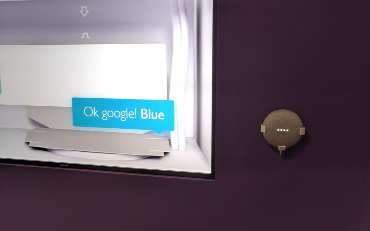 Ok Google und Philips Digital Signage (Foto: invidis)