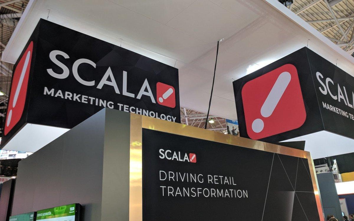 Scala Retail tech auf der ISE (Foto: invidis)
