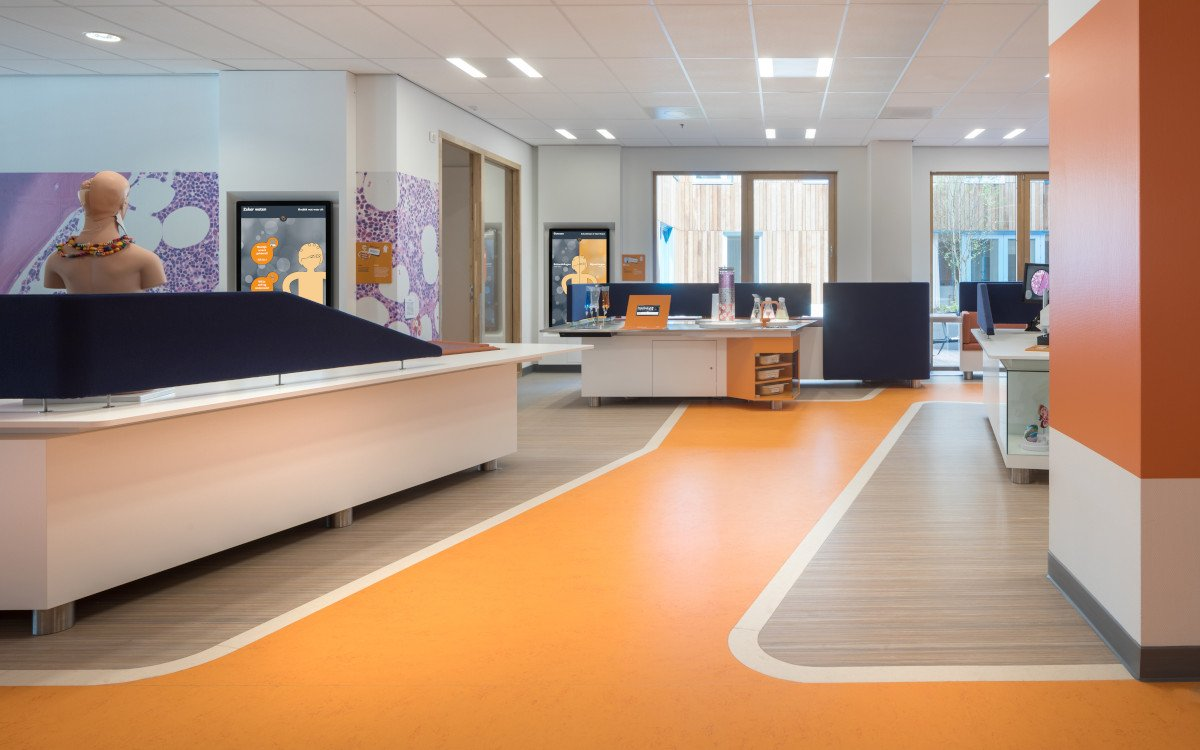 Kinderkrebsstation in Uetrecht (Foto: Ewout Huibers )