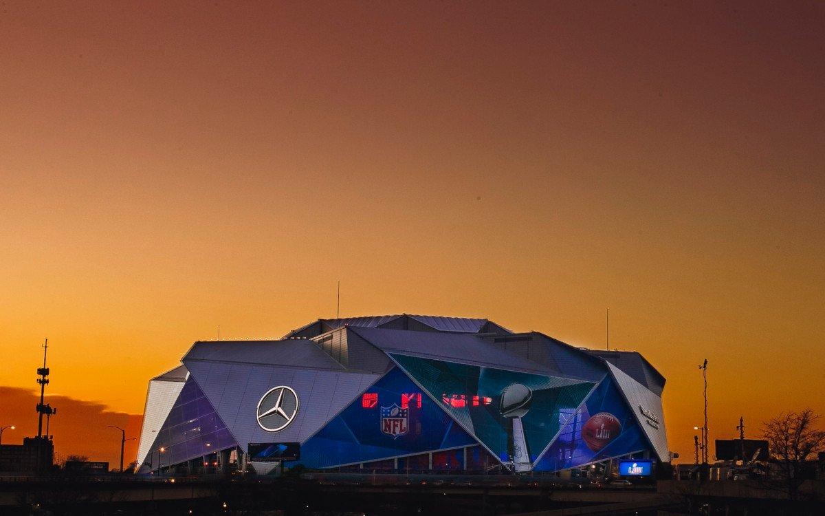 Super Bowl im Mercedes Benz Stadium Atlanta (Foto: Mercedes Benz Stadium)