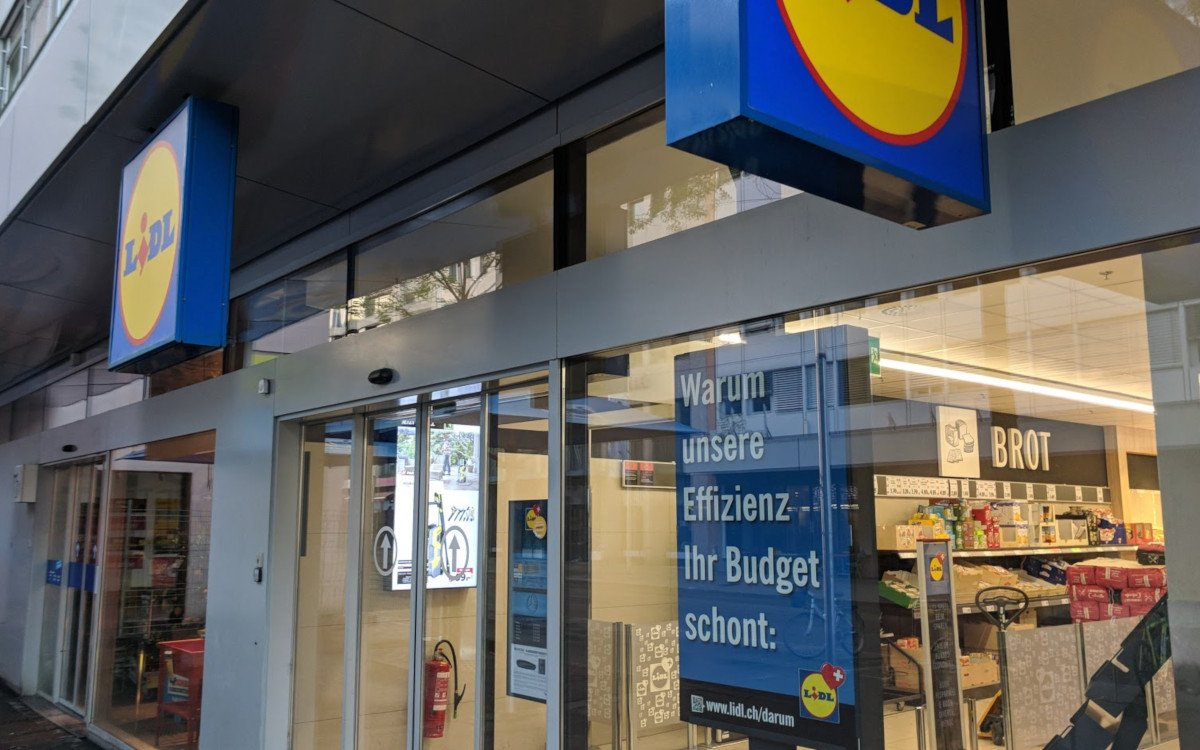 Lidl-Filiale in Basel (Foto: invidis)