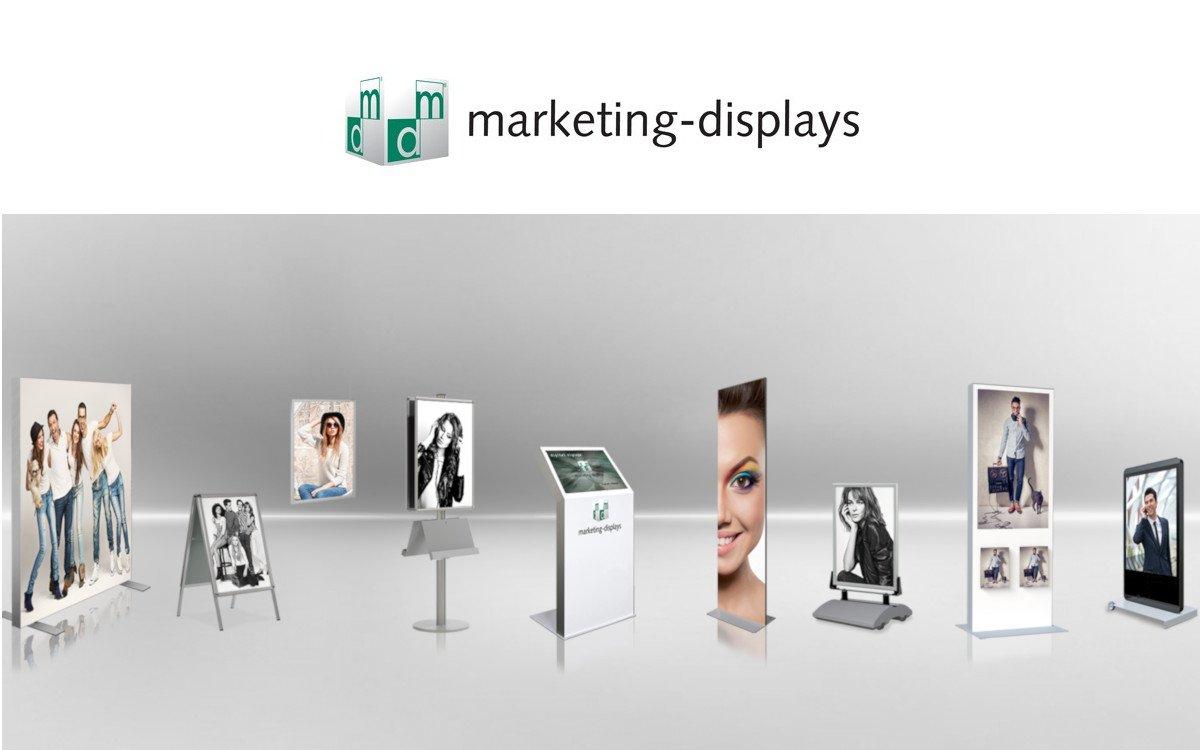 Stellenanzeige: Marketing Displays in Köln sucht Projekt Manager Digital Signage / Perspektive: Leiter Digital Signage (Foto: Marketing Displays)