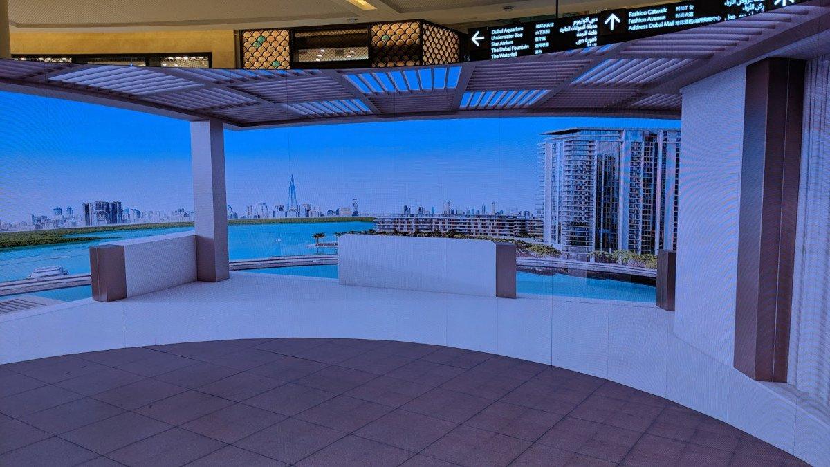 Emaar LED-Experience in Dubai Mall (Foto: invidis)