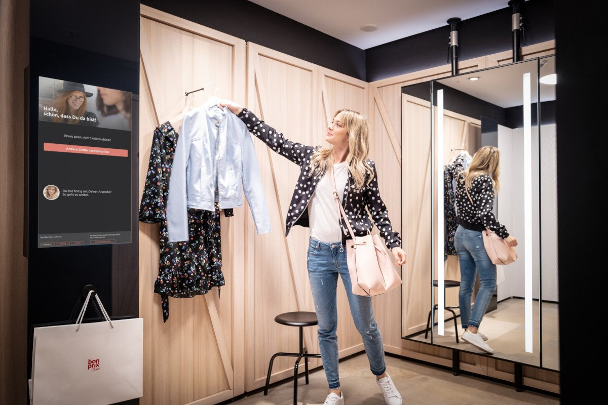 "bonprix ""fashion connect"" Fitting Room (Foto: bonprix)"