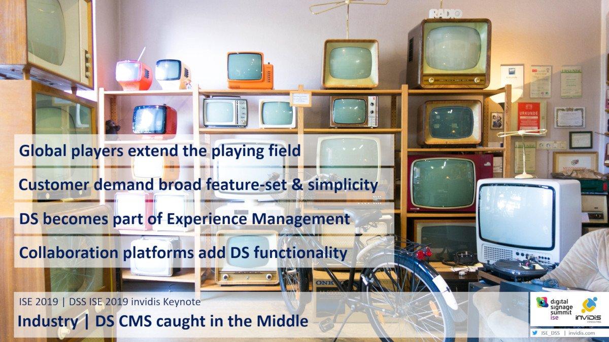 Trends im CMS Geschäft - ISE DSS invidis Keynote (Foto: invidis)