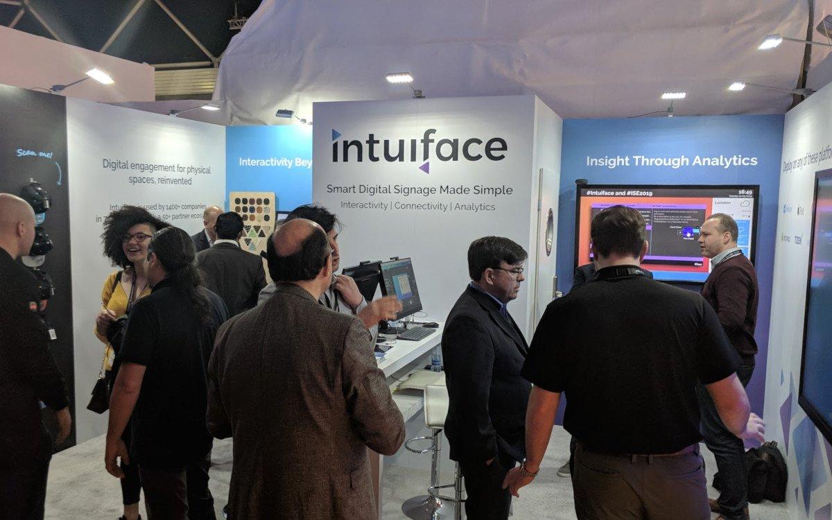 Intuiface auf der ISE (Foto: invidis)