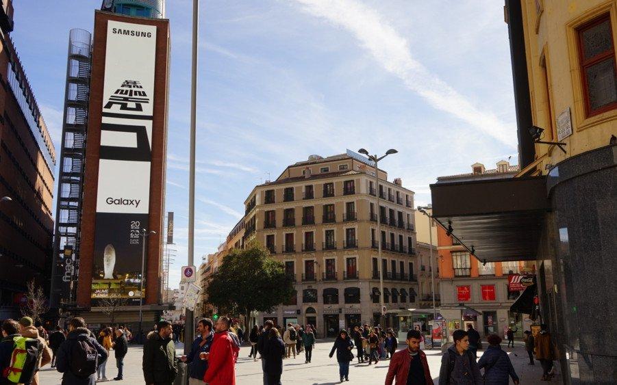 Samsung Future Unfolds Kampagne in Madrid (Foto: Samsung)