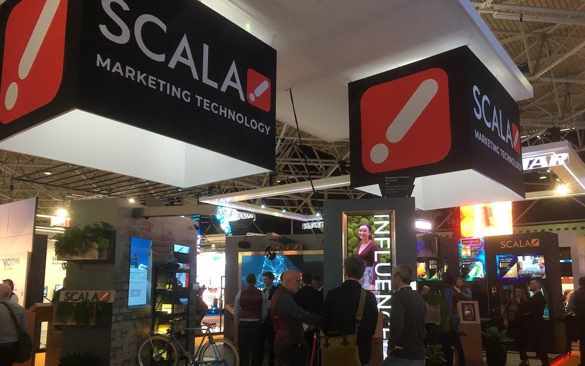 Am Stand von Scala wurden zahlreiche praktische Retail-Lösungen gezeigt (Foto: invidis)